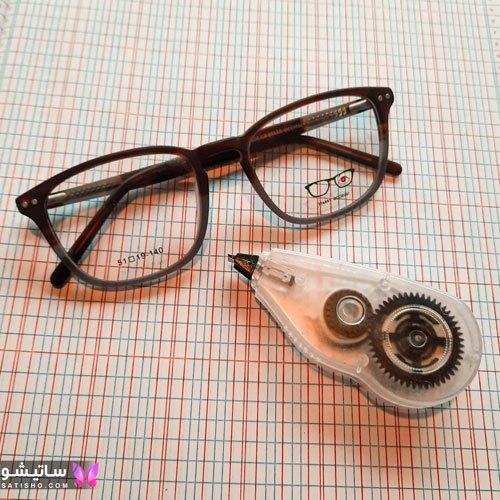مدل عینک گرد دخترانه شیک و لاکچری