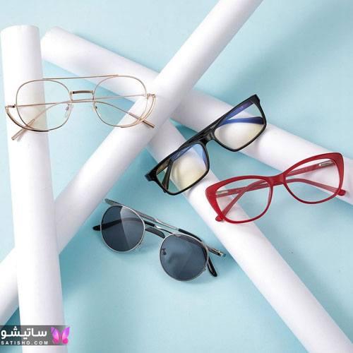 مدل عینک طبی لاکچری دخترانه 1400