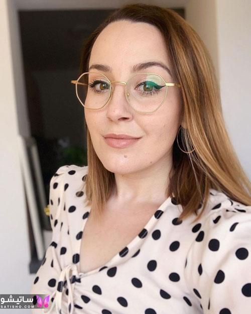 eynak satisho 52 - بهترین مدل عینک طبی دخترانه شیک