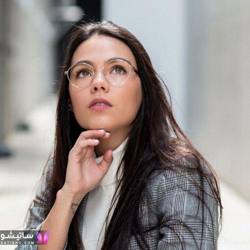 eynak satisho 57 - بهترین مدل عینک طبی دخترانه شیک