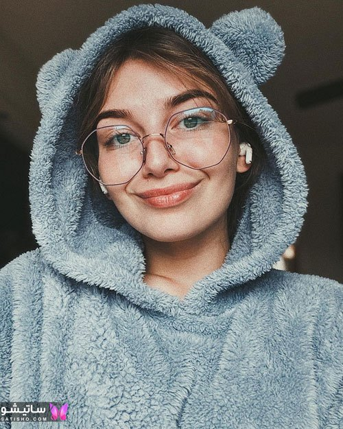 eynak satisho 58 - بهترین مدل عینک طبی دخترانه شیک