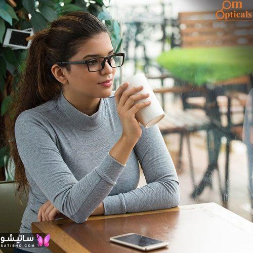 eynak satisho 59 - بهترین مدل عینک طبی دخترانه شیک