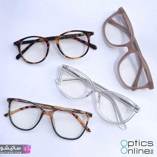 eynak satisho 61 - بهترین مدل عینک طبی دخترانه شیک
