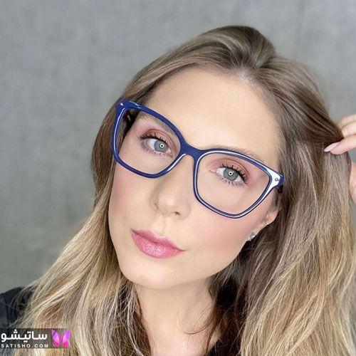 eynak satisho 64 - بهترین مدل عینک طبی دخترانه شیک