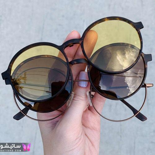 eynak satisho 65 - بهترین مدل عینک طبی دخترانه شیک