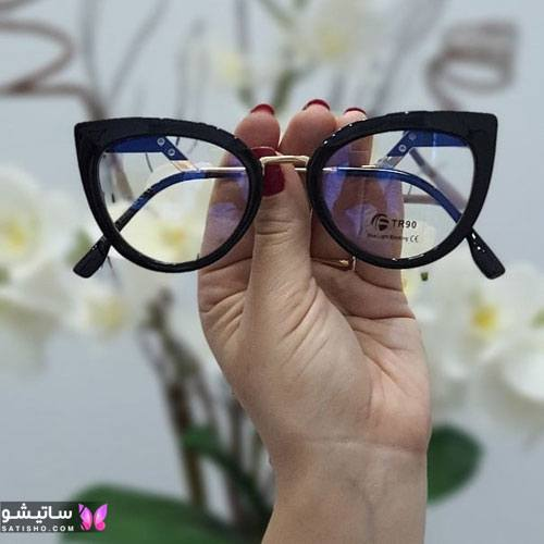 eynak satisho 66 - بهترین مدل عینک طبی دخترانه شیک