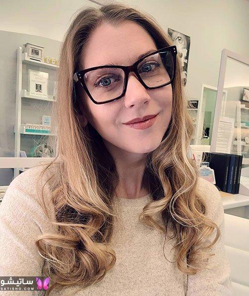 eynak satisho 75 - بهترین مدل عینک طبی دخترانه شیک