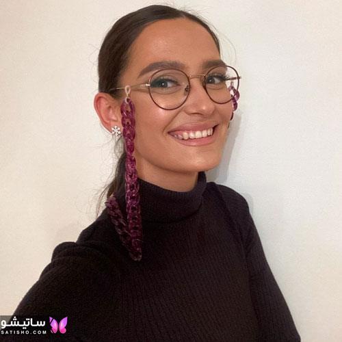 eynak satisho 76 - بهترین مدل عینک طبی دخترانه شیک