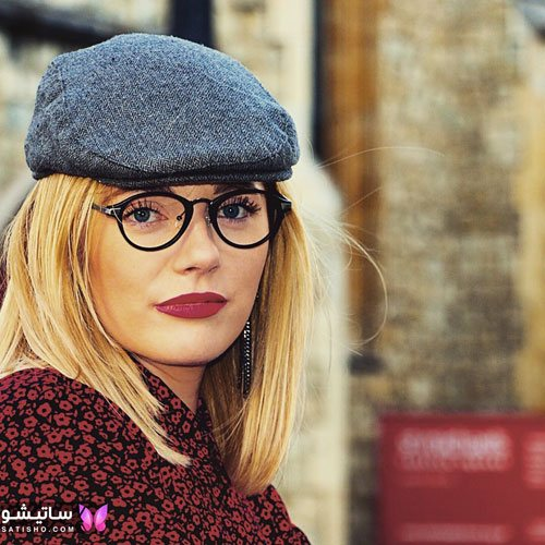 eynak satisho 78 - بهترین مدل عینک طبی دخترانه شیک
