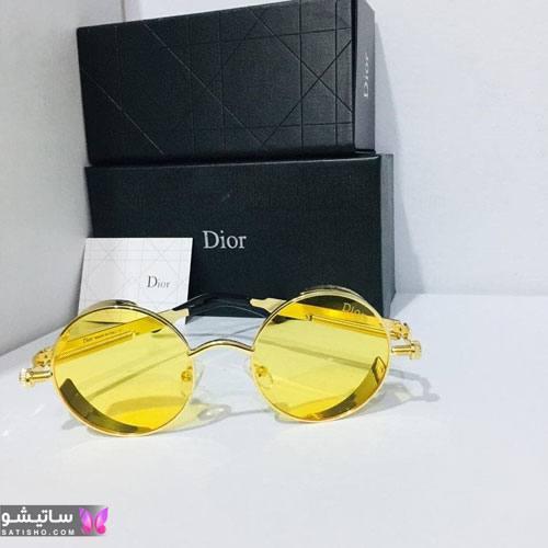 عینک طبی دخترانه لاکچری شیشه رنگی