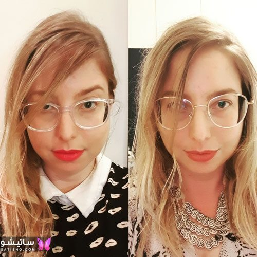 eynak satisho 81 - بهترین مدل عینک طبی دخترانه شیک