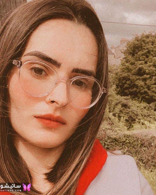 eynak satisho 83 - بهترین مدل عینک طبی دخترانه شیک