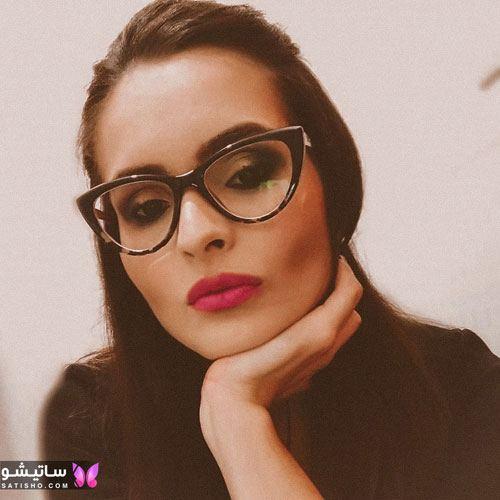 eynak satisho 84 - بهترین مدل عینک طبی دخترانه شیک
