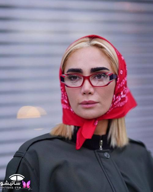 eynak satisho 87 - بهترین مدل عینک طبی دخترانه شیک