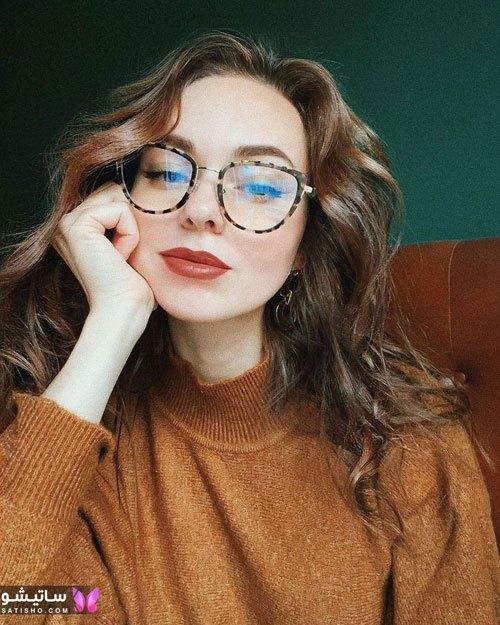 eynak satisho 88 - بهترین مدل عینک طبی دخترانه شیک