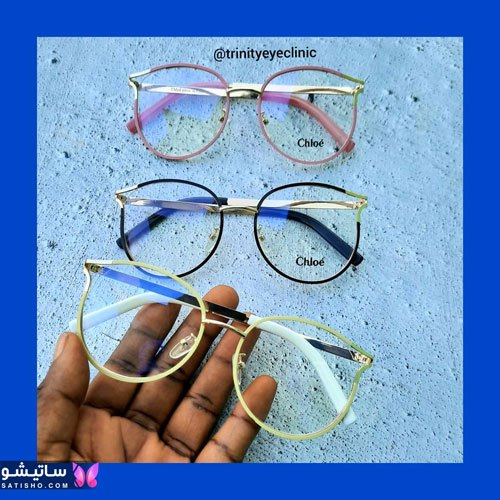 eynak satisho 91 - بهترین مدل عینک طبی دخترانه شیک
