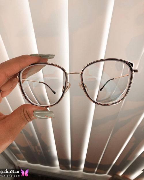 eynak satisho 92 - بهترین مدل عینک طبی دخترانه شیک