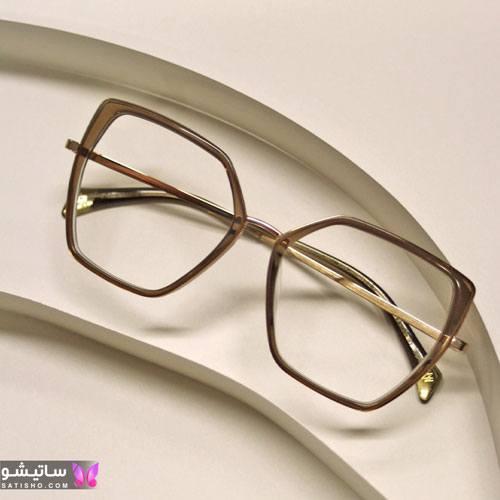 eynak satisho 98 - بهترین مدل عینک طبی دخترانه شیک