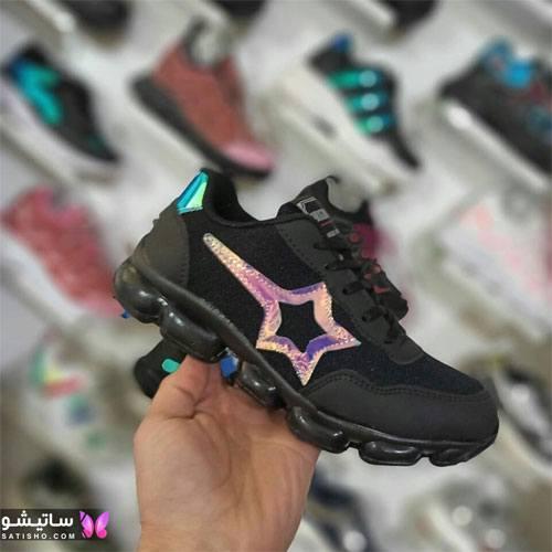 تصاویر کفش اسپرت دخترانه شیک هـولوگرامی