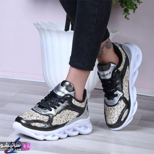 عکس کفش های اسپرت دخترانه شیک