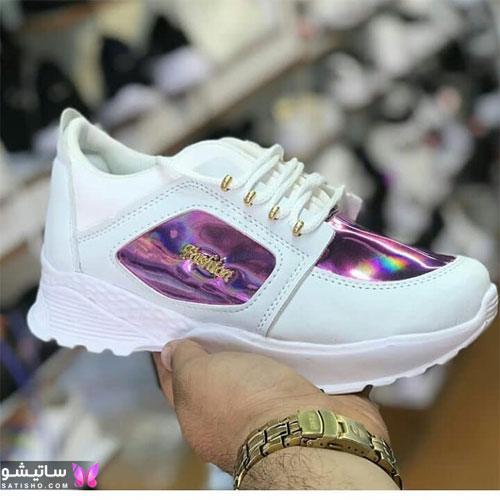 کفشهای اسپرت شیک زنانه هـولوگرامی