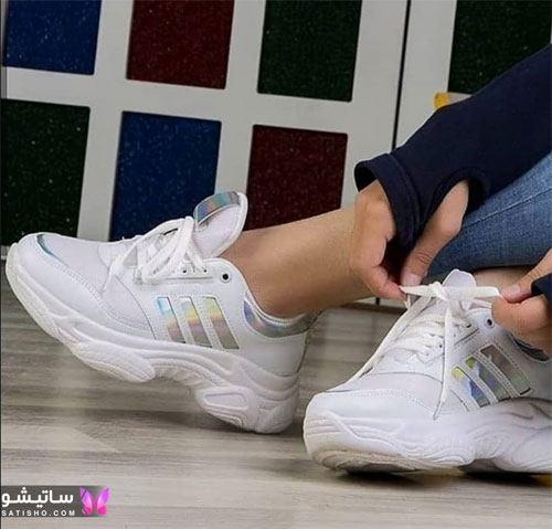 کفشهای اسپرت زنانه شیک هـولوگرامی