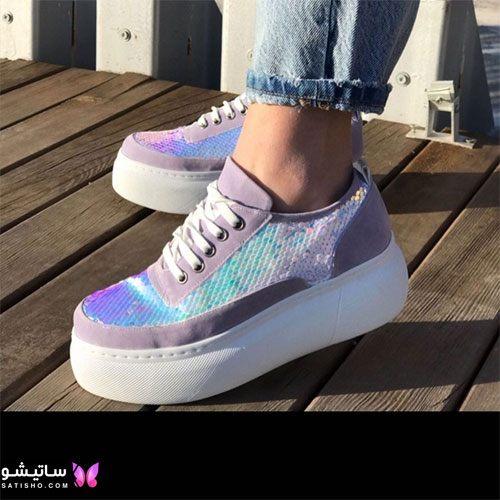 انواع کفش اسپرت زنانه هـولوگرامی