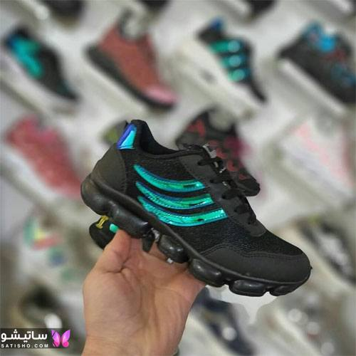 انواع کفش اسپرت زنانه بدون بند هـولوگرامی
