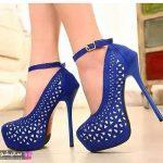 مدل کفش آبی کاربنی