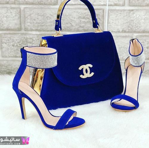 انواع کفش اسپرت زنانه جدید آبی رنگ