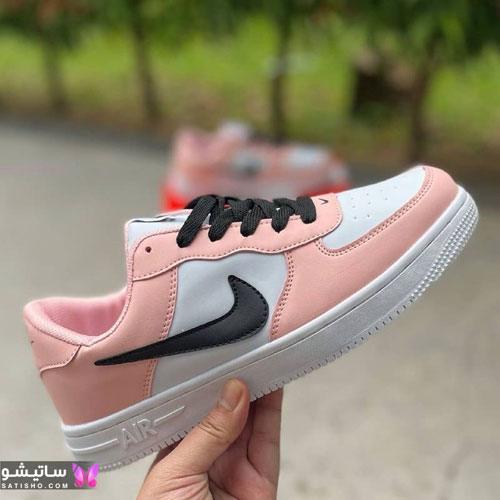 کفش اسپرت دخترانه 2021 صورتی