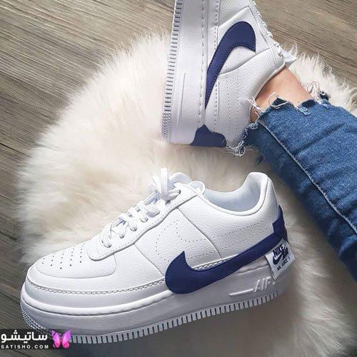 کفش اسپرت سفید برند نایک