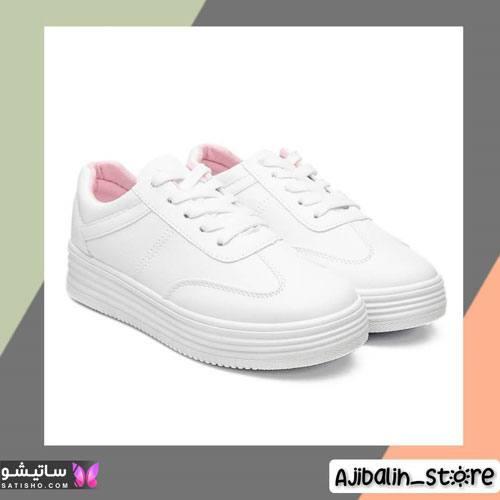 انواع نمونه های کفش اسپرت رنگ روشن دخترانه