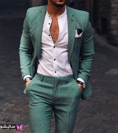 مدلهای جدید کت شلوار دامادی