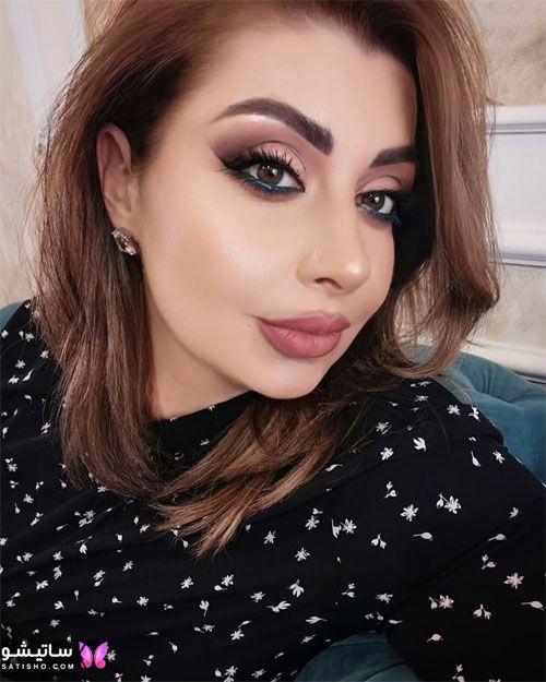 مدل آرایش ملایم دخترانه ایرانی 1400