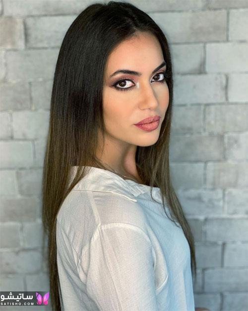 نمونه آرایش ملایم صورت دخترانه 2021
