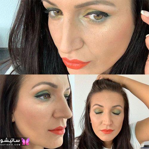 مدل آرایش حرفه ای صورت عروس 2021