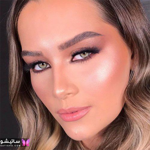 نمونه آرایش های شاین صورت 2021 جدید