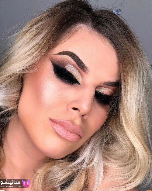 مدل آرایش چشم دخترانه 2021