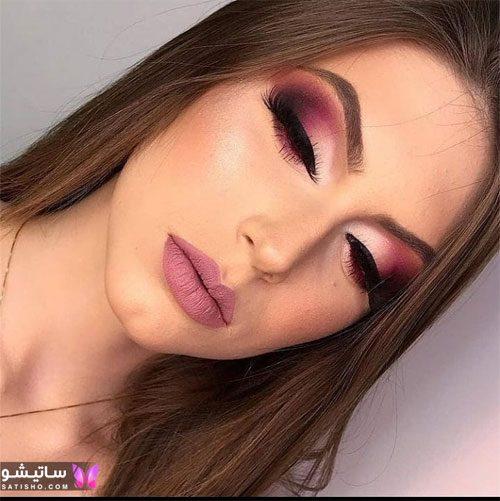 مدلهای ساده آرایش صورت زنانه