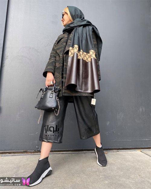 مدل مانتو چریکی جدید دخترانه