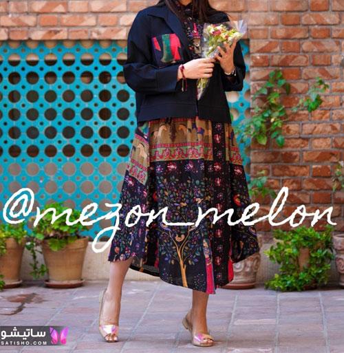 manto tabestooni satisho 21 1 - جدیدترین مدل مانتو تابستانی امسال با طرح های شاد و رنگ های جذاب