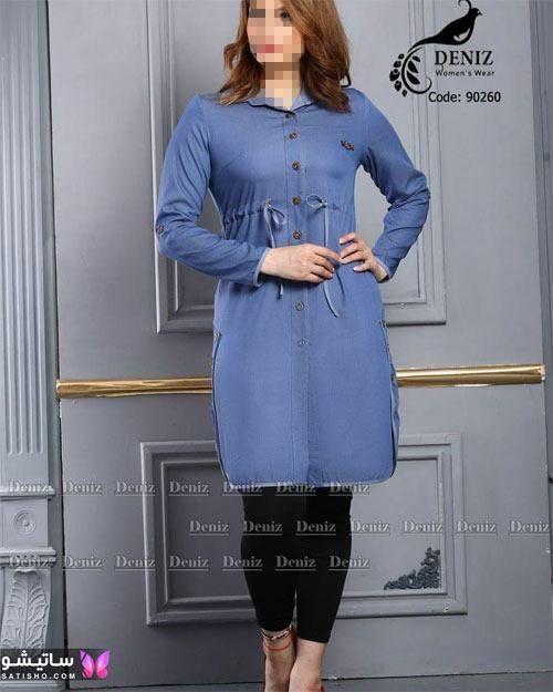 مدل مانتو لی دخترانه 2021 تابستانه