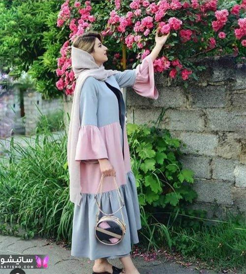 مانتو تابستانی سه رنگ دخترانه 2021