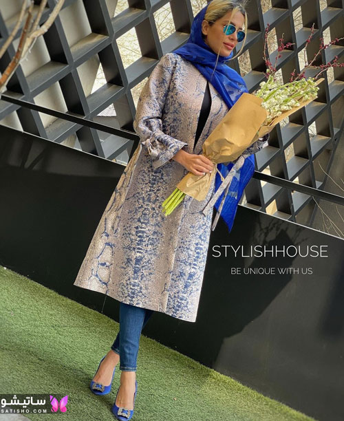 manto tabestooni satisho 34 1 - جدیدترین مدل مانتو تابستانی امسال با طرح های شاد و رنگ های جذاب