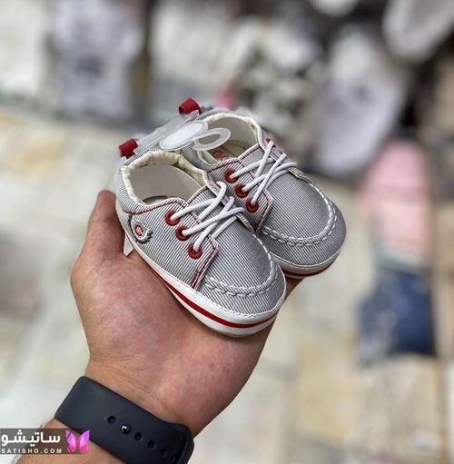 تصاویر پاپوش و کفش نوزادی پسرانه