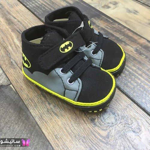 کفش و پاپوش پسرانه بچه گانه رنگ مشکی