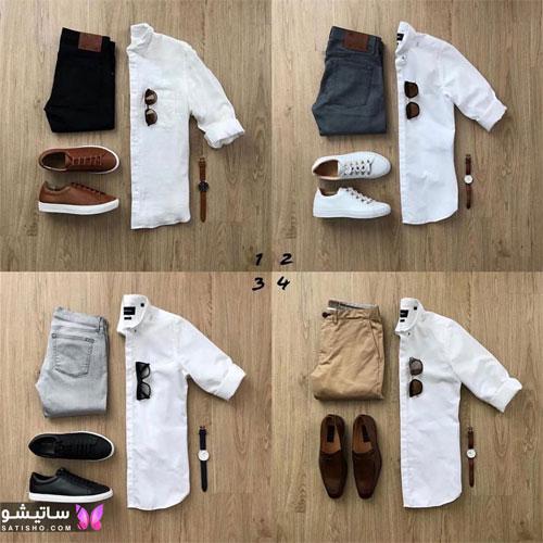 set mardane satisho 1 - بهترین ست لباس مردانه شیک 1400