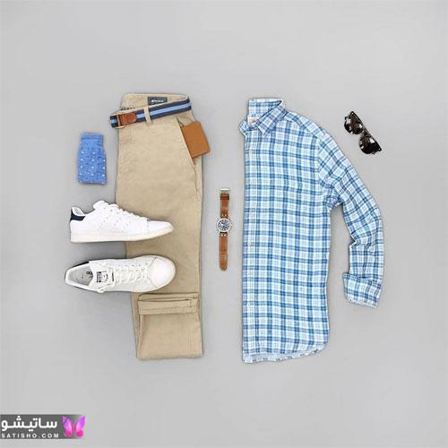 set mardane satisho 18 - بهترین ست لباس مردانه شیک 1400