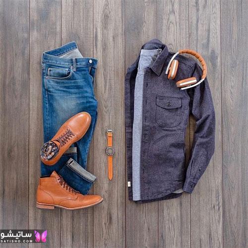 set mardane satisho 19 - بهترین ست لباس مردانه شیک 1400